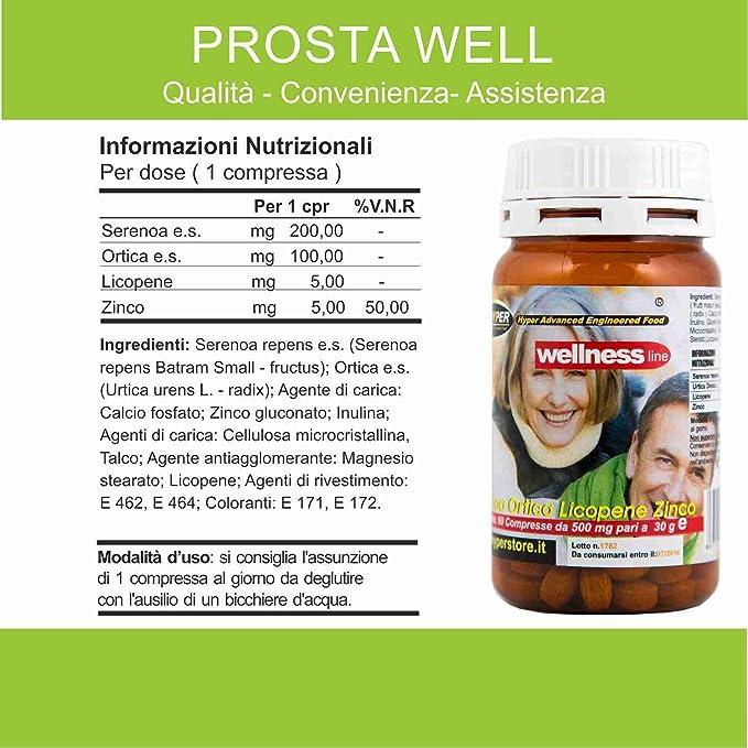 ... Próstata Salud Bienestar con píldoras 2 BOX 60 Tabletas Formulación con Serenoa Repens (Saw palmetto) Ortiga Licopeno Remedio Natural 1 Paquetes de 2 ...