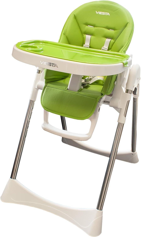 Trona bebé Viesta BHS01 con función de reclinado, arnés de ...