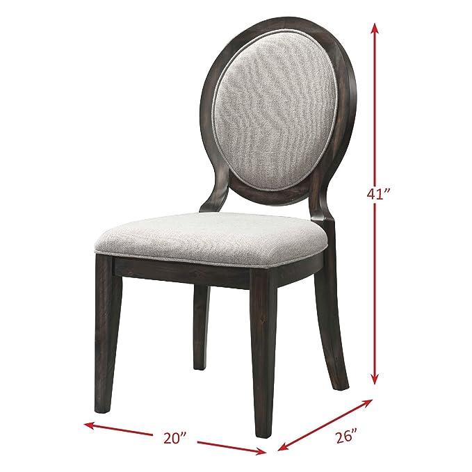 Amazon.com: Piquete casa muebles Steele tela silla de ...
