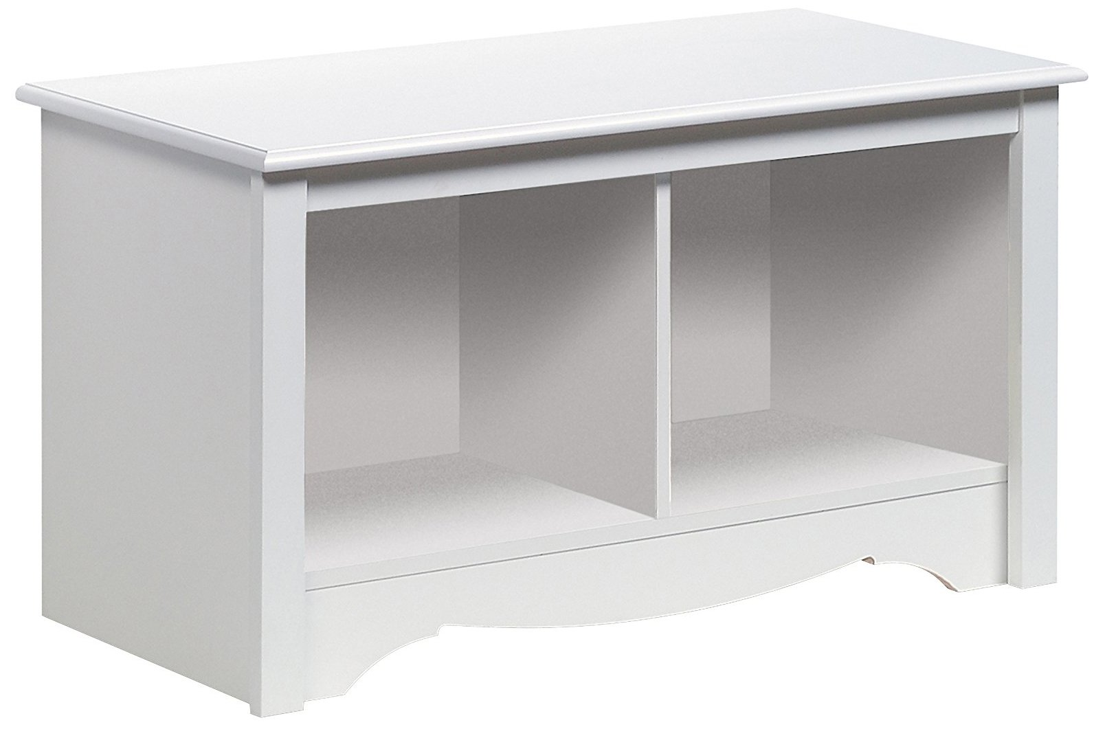 Prepac Monterey White Twin Cubbie Bench (Small) by Prepac