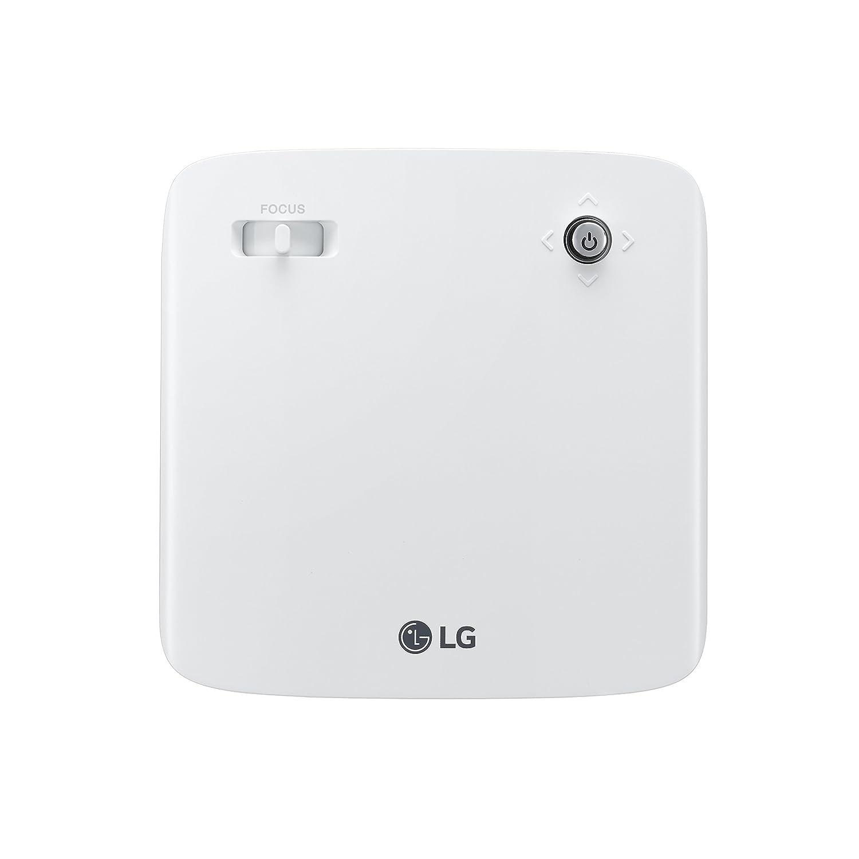 LG PH150G 130lúmenes ANSI LCOS 720p (1280x720) Portable Projector Oro, Color Blanco - Proyector (16:9, 254 - 2540 mm (10 - 100
