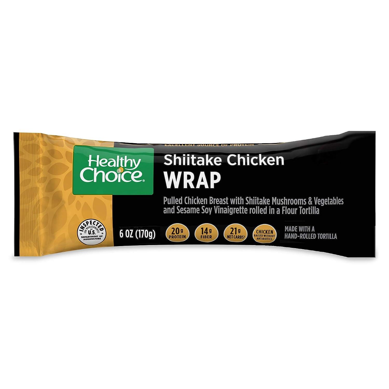 Healthy Choice Frozen Meal, Shiitake Chicken Wrap, 6 oz.