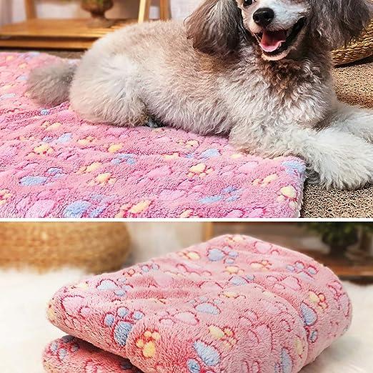 Cama de perro gato manta grande XXL colchoneta suave de invierno de franela lavable: Amazon.es: Productos para mascotas