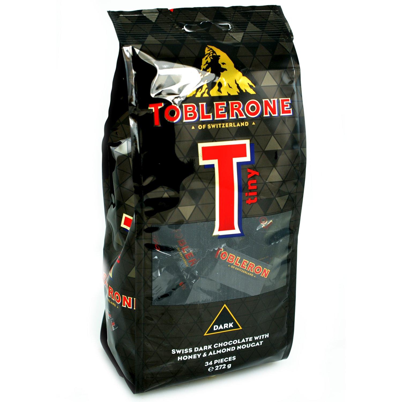 Toblerone Dark Tiny 34 Pieces 272g Amazoncouk Grocery