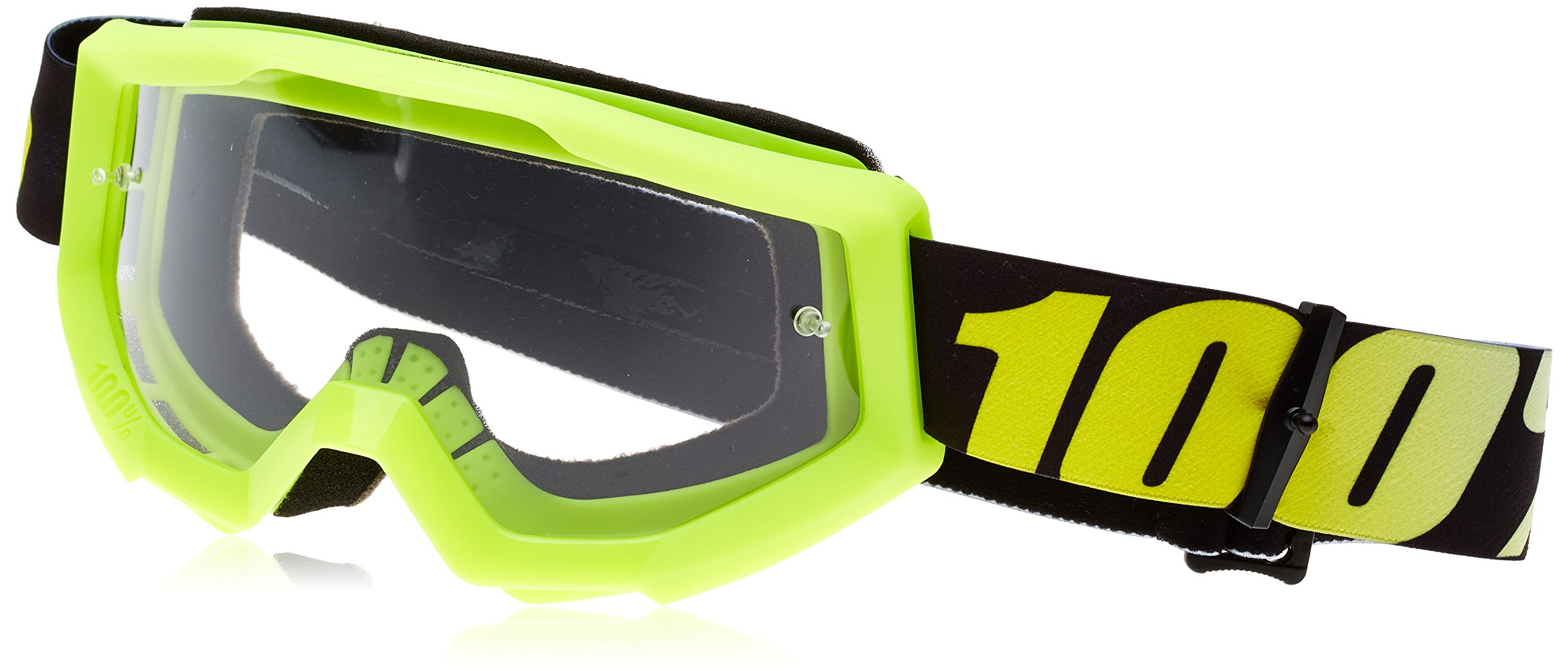 100% Strata Goggle-Neon Yellow by 100%