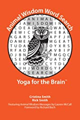 Animal Wisdom Word Search: Yoga for the Brain Paperback