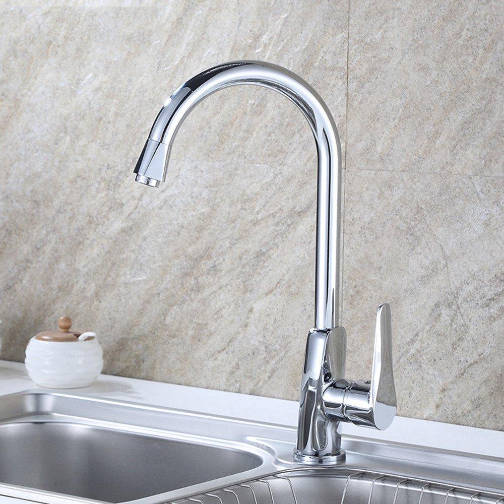 Gyps Faucet Waschtisch-Einhebelmischer Waschtischarmatur Badarmatur Die Küche kalt kalt kalt und Heißes Wasser Tanks Gedreht Einzigen Griff Spüle Wasserhahn Werden können,Mischbatterie Waschbecken f136ef