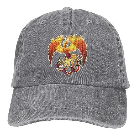 a530474b3da FBGVFD Phoenix Birds Baseball Caps Vintage Comfort Personalized Hats for  Unisex