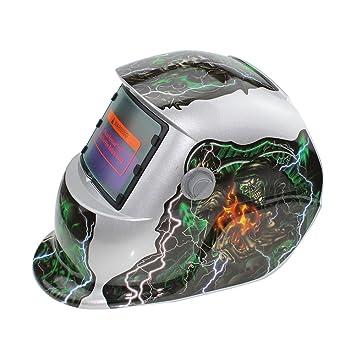 Rosepoem Máscara De Oscurecimiento Automático Solar Máscara De Soldadura Cascos De Soldadura, Máscara Máscara De Protección De Oscurecimiento Automático ...