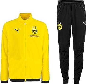 Puma BVB Borussia Dortmund Survêtement de Sport pour Homme