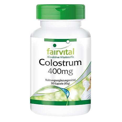 Calostro 400 mg - 1 mes - ALTA DOSIS - 90 cápsulas - desde Alemania -