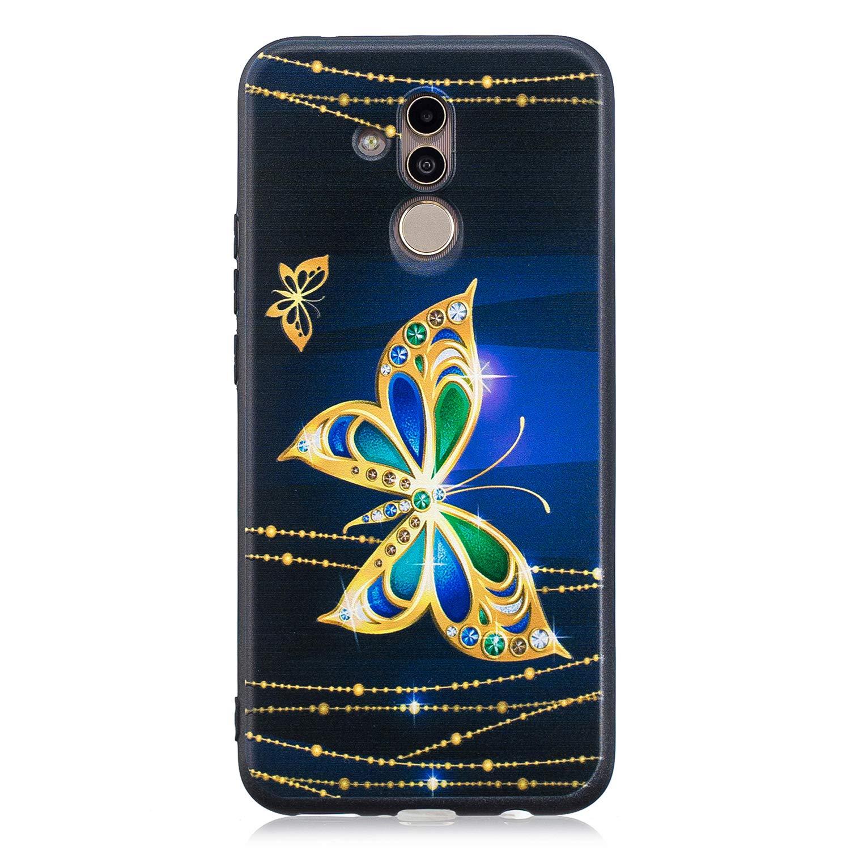 Lomogo Huawei [Mate 20 Lite] Hülle Silikon, Schutzhülle Stoßfest Kratzfest Handyhülle Case für Huawei Mate20 Lite - LOBFE13893#1