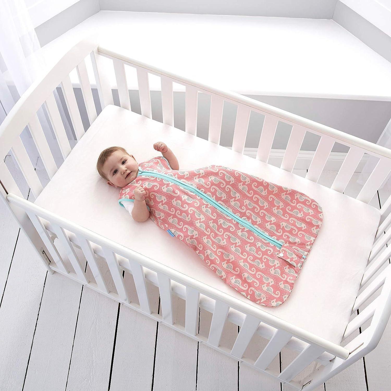 The Gro Company Tommee Tippee GRO Caballito de mar Saco de dormir Grobag con bolsa de tela para Transportar, 6-18m, 0.5 tog: Amazon.es: Bebé