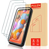 [3-Pack] PULEN for Samsung Galaxy A11 Screen Protector,9H Hardness HD Clear Scratch Resistant Bubble Free Anti-Fingerprints T