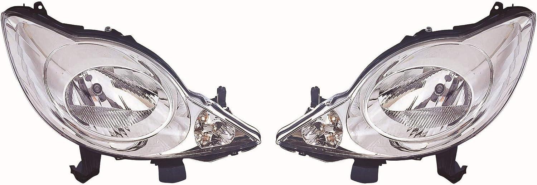 Hauptscheinwerfer Frontscheinwerfer Set links /& rechts Scheinwerfer