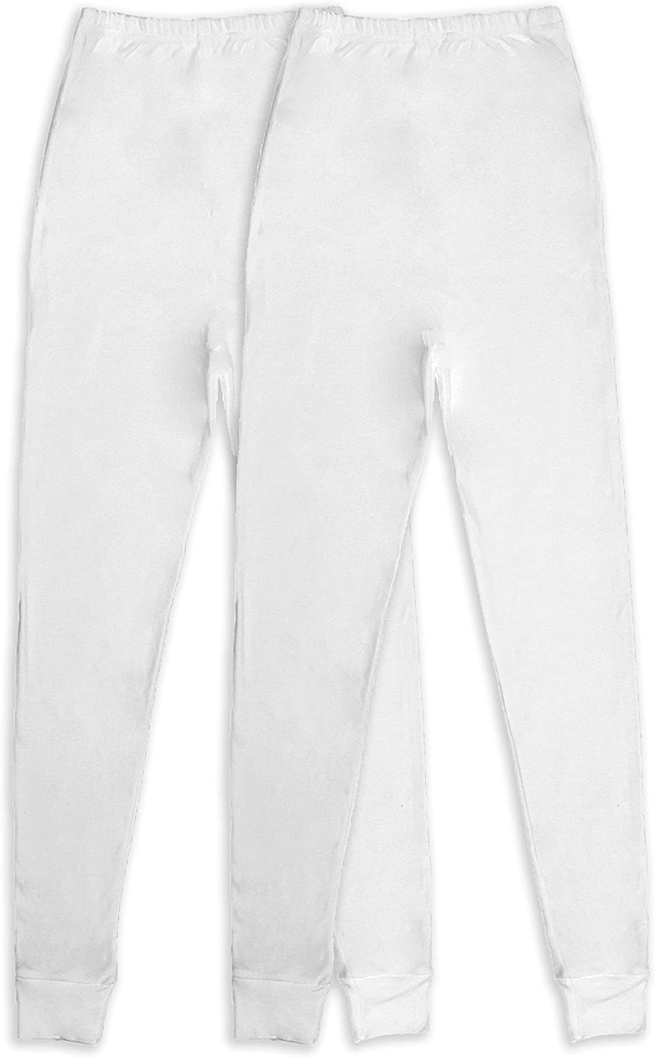 Andrew Scott Women's 2 Pack Long Thermal Fleece Cotton Legging Pants at  Women's Clothing store