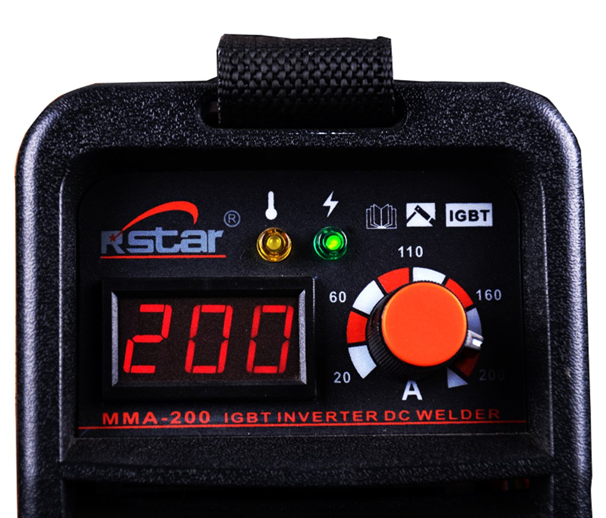 Rstar Portable IGBT Inverter 110v/220v Dual voltage mma200 stick welding machine - - Amazon.com