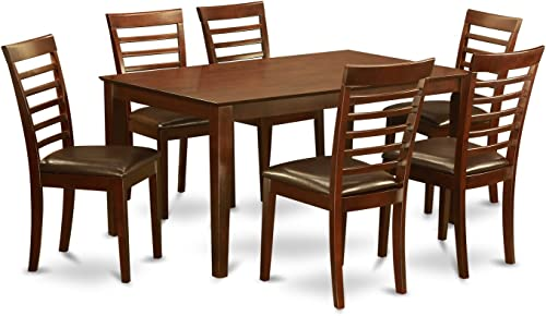 East West Furniture Kitchen Nook Table Set 7 Piece
