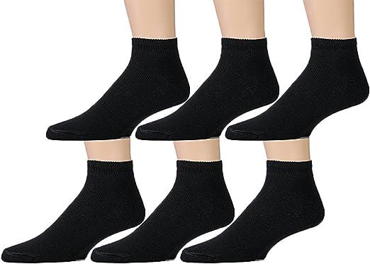 Soft Sports Socks In Bulk, SOCKSNBULK Womens No Show Ankle Socks Size 9-11