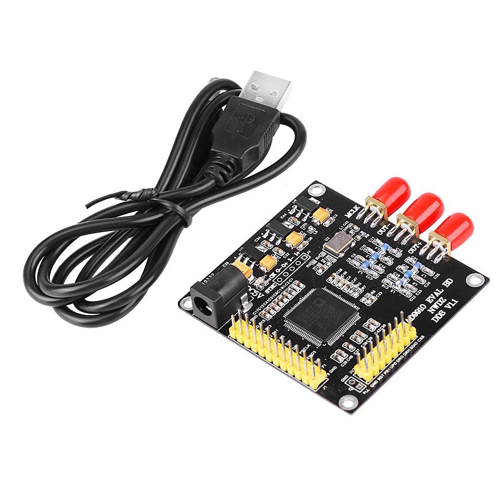 AD9910 1GSPS High Flatness DDS Signal Generator Module Board Phase-amplitude Programmable DAC 420MHz Waveform Signal Source DIY Kit Walfront