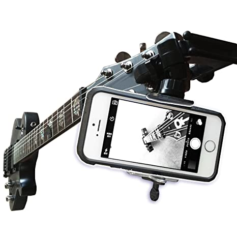Soporte para cámara para guitarra