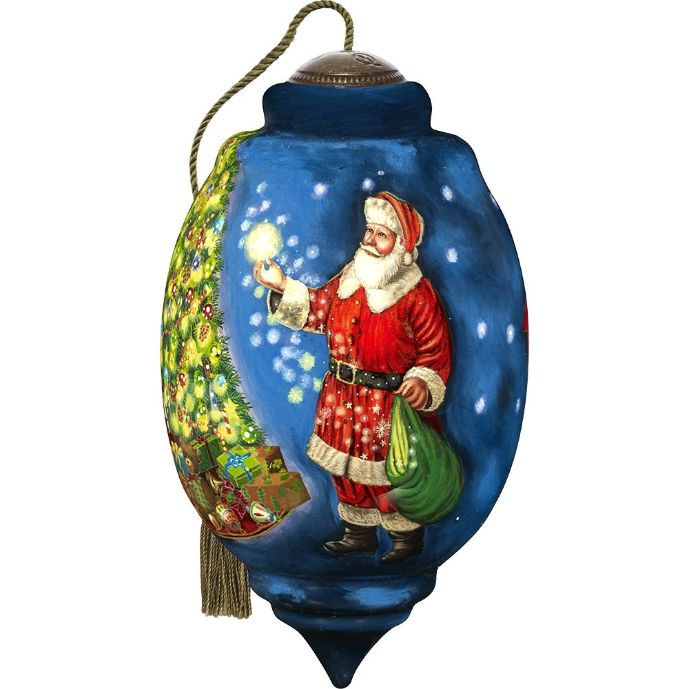 Ne'Qwa 2017 Santa Ltd Ed Dated Ornament