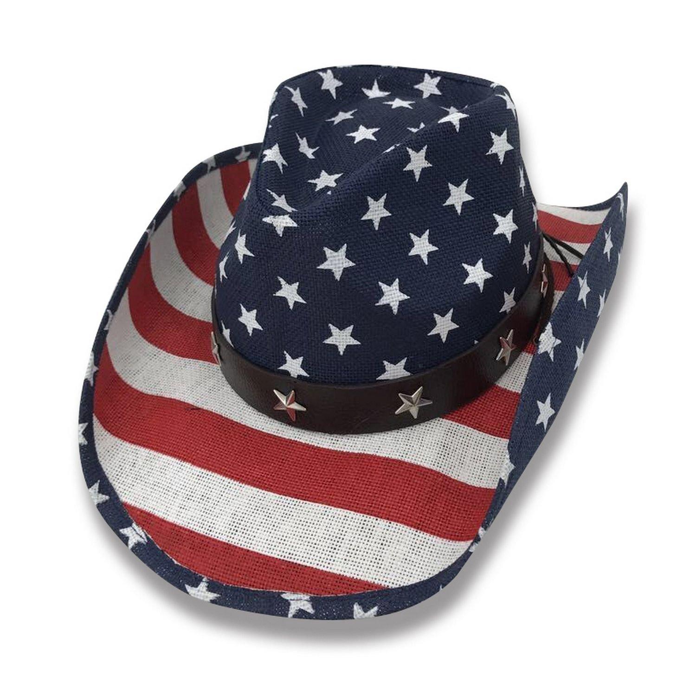 AccessHeadwear Old Stone Liberty Men's Women's Unisex Cowboy Drifter Style Hat