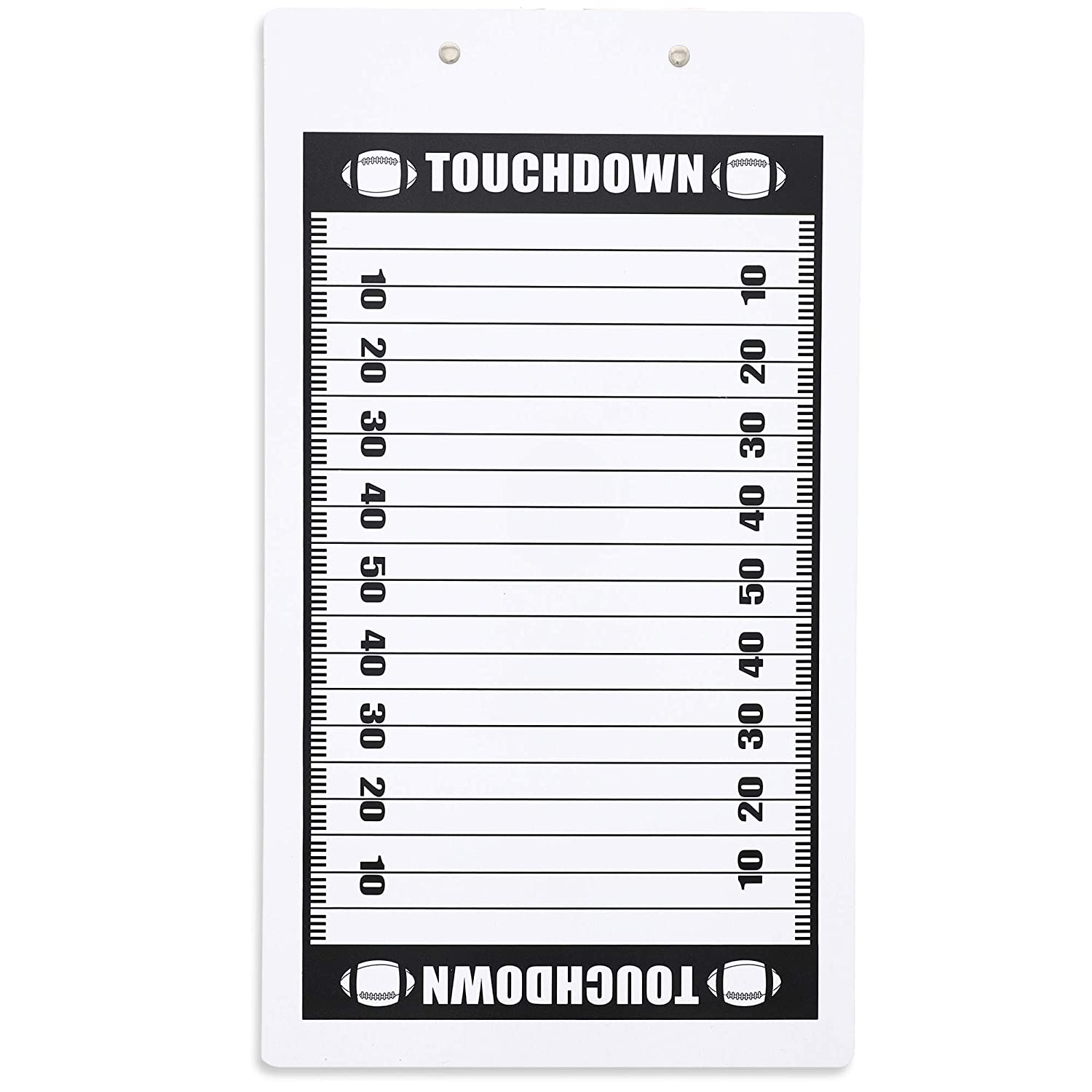 Amazon.com: Juvale Dry Erase Football Coach Clipboard, 9 x ...
