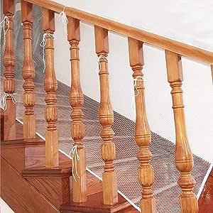 Malla de seguridad, de BTSKY, para protección infantil, para balcones y barandillas de escaleras, impermeable, resistente Talla:2M: Amazon.es: Bebé