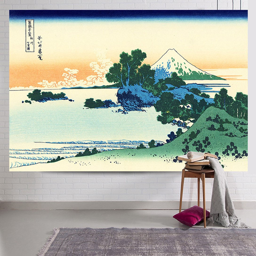SUNSHINE EVERYDAY Cool Japanese Art Printing Tapestry Wall Hanging, Beach towel Throw, Dorm Decoration, Tablecloth Japanese Art Curtain (60''×40'', Multi-10) by SUNSHINE EVERYDAY