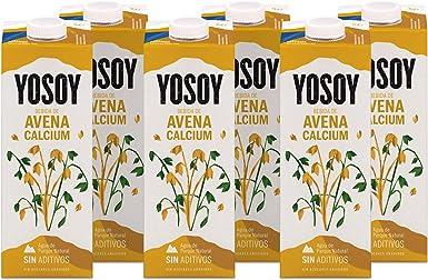 Yosoy - Bebida Vegetal de Avena con Calcio - Caja de 6 x 1L ...