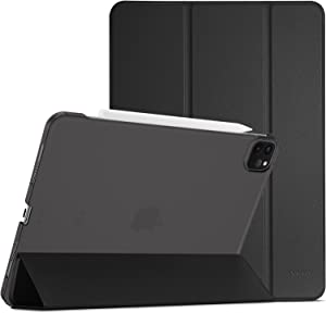 ProCase iPad Pro 11 Case 2021 2020 2018, Slim Stand Hard Back Shell Smart Cover for iPad Pro 11 Inch 3rd Generation 2021/ 2nd Gen 2020 / 1st Gen 2018 -Black