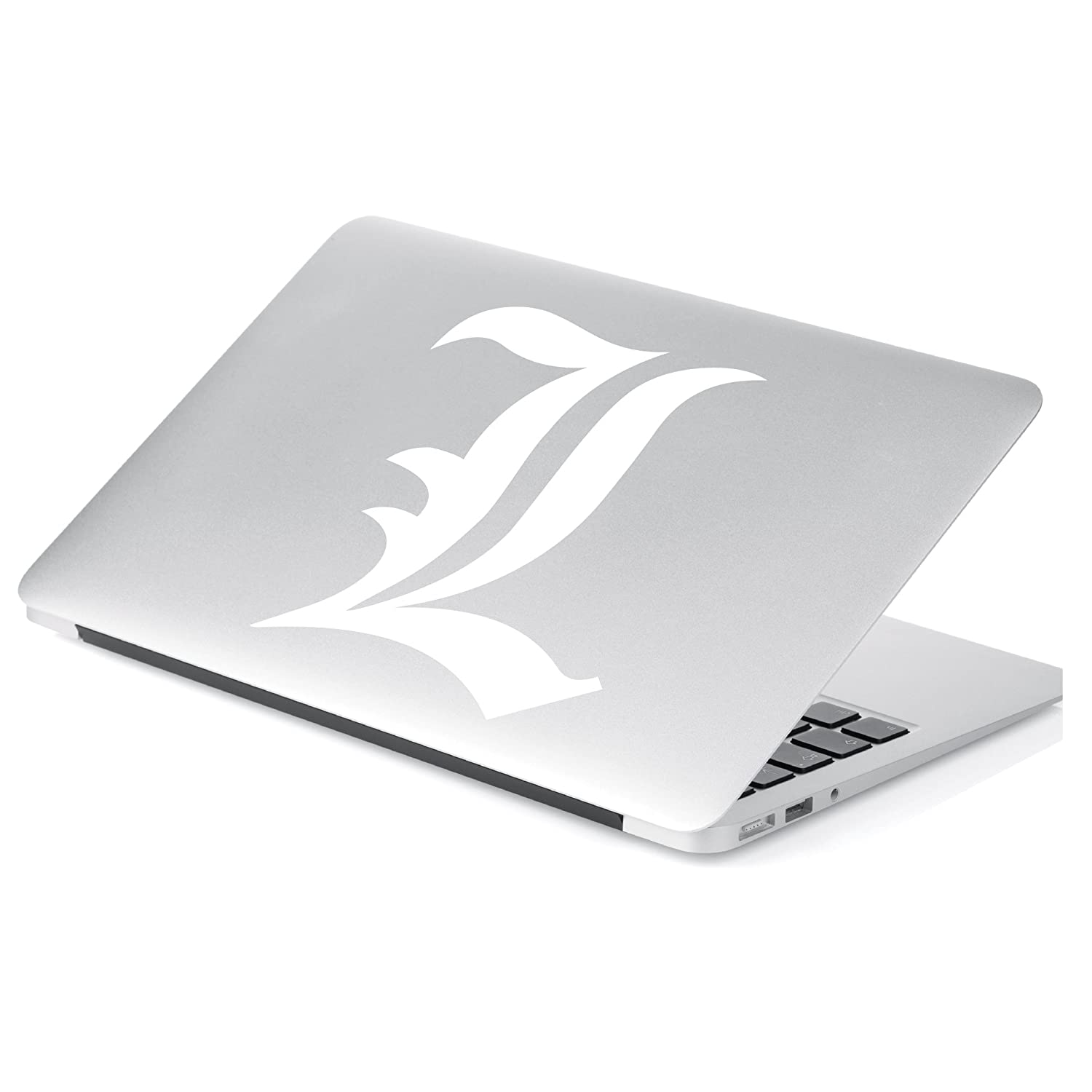 # 585 Yoonek Graphics Death Note L Anime Decal Sticker for Car Window 6 Laptop and More