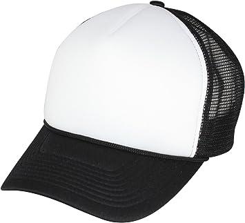 Gorra de béisbol Trucker Malla Foam negro: Amazon.es: Deportes y ...