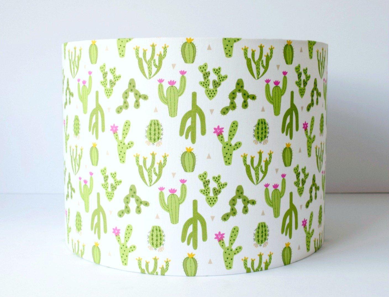 Cactus Drum Lampshade