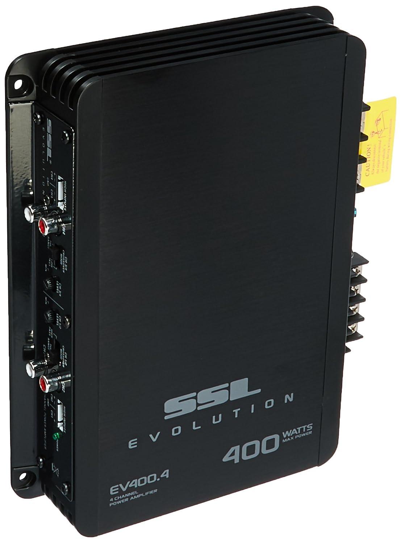 Sound Storm Ev4004 Evolution 400 Watt 4 Channel 2 To Home Gt Car Audio Amplifier Kit Amp Wiring Pyramid 8ga 8 Ohm Stable Class A B Full Range Laboratories
