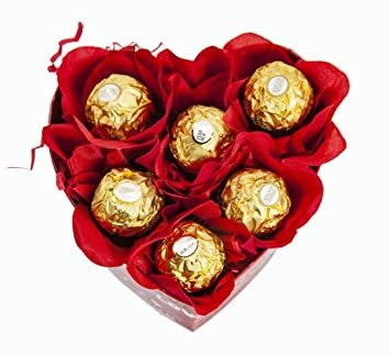 Amazon Com Happy Valentine S Day Heart Shaped Boxes Filled With