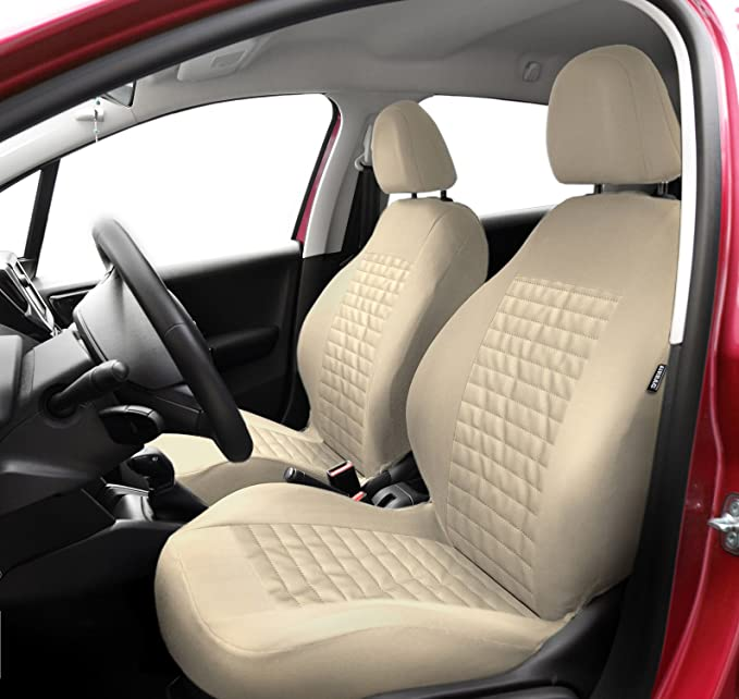 Autositzbezüge Universal Beige für Mazda CX-5 Sitzbezüge Sitzbezug Autositz Auto