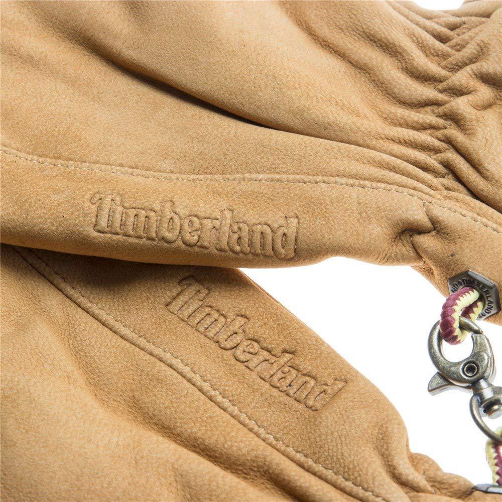 Timberland Nubuck Touch-Screen Uomo Guanti Giallo