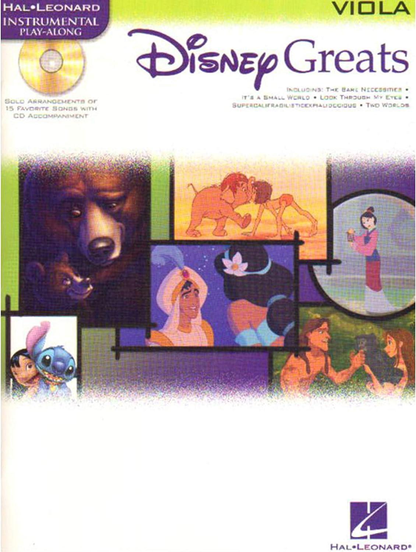 Disney Greats: Viola - Partituras, CD: Amazon.es: Instrumentos ...