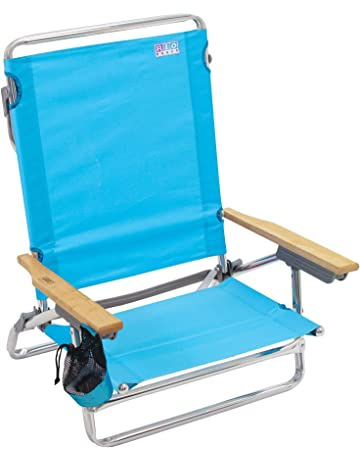 ecdcf72f73ca Rio Beach Classic 5 Position Lay Flat Folding Beach Chair