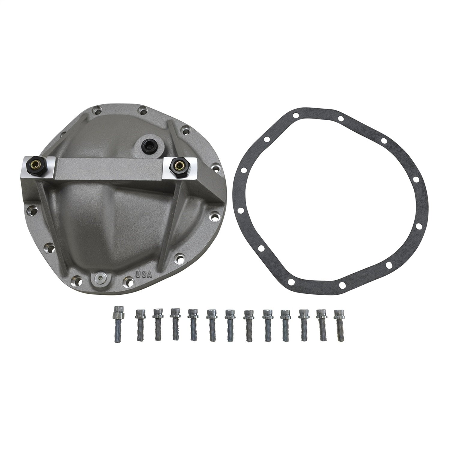 Yukon (YP C3-GM12T) Aluminum Replacement Girdle Cover for GM 12-Bolt Truck TA HD Differential