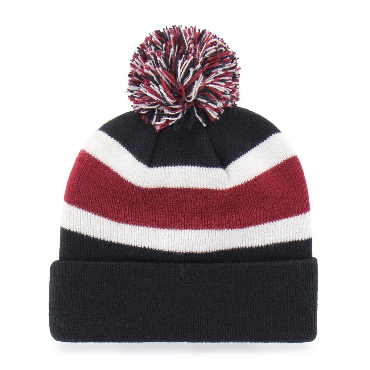 Fanartikel NHL New Jersey Devils 47 Logo Wollmütze Wintermütze Mütze Calgary Cuff Knit Hat