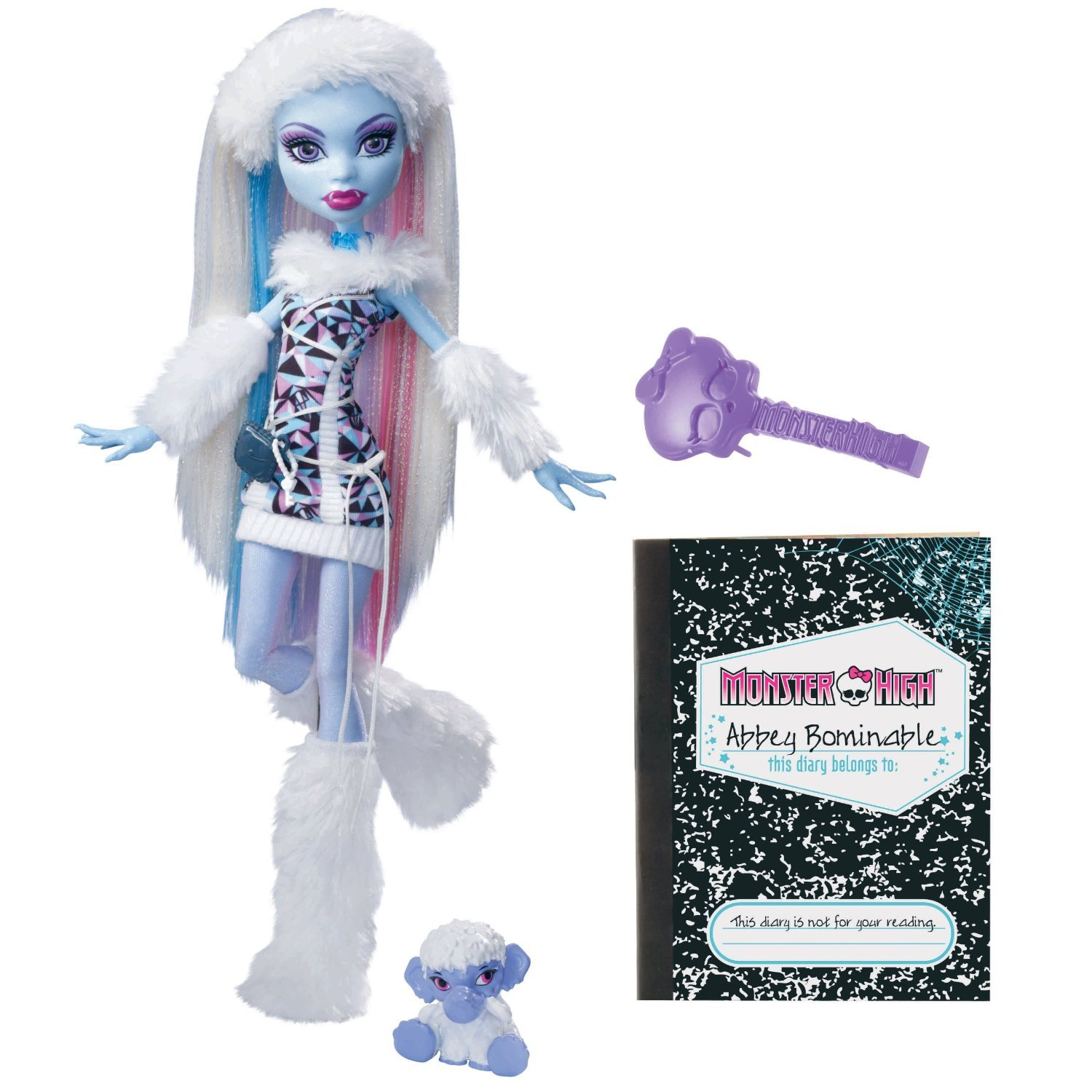 Uncategorized Abby Monster High amazon com monster high abbey bominable doll daughter of the yeti toys games