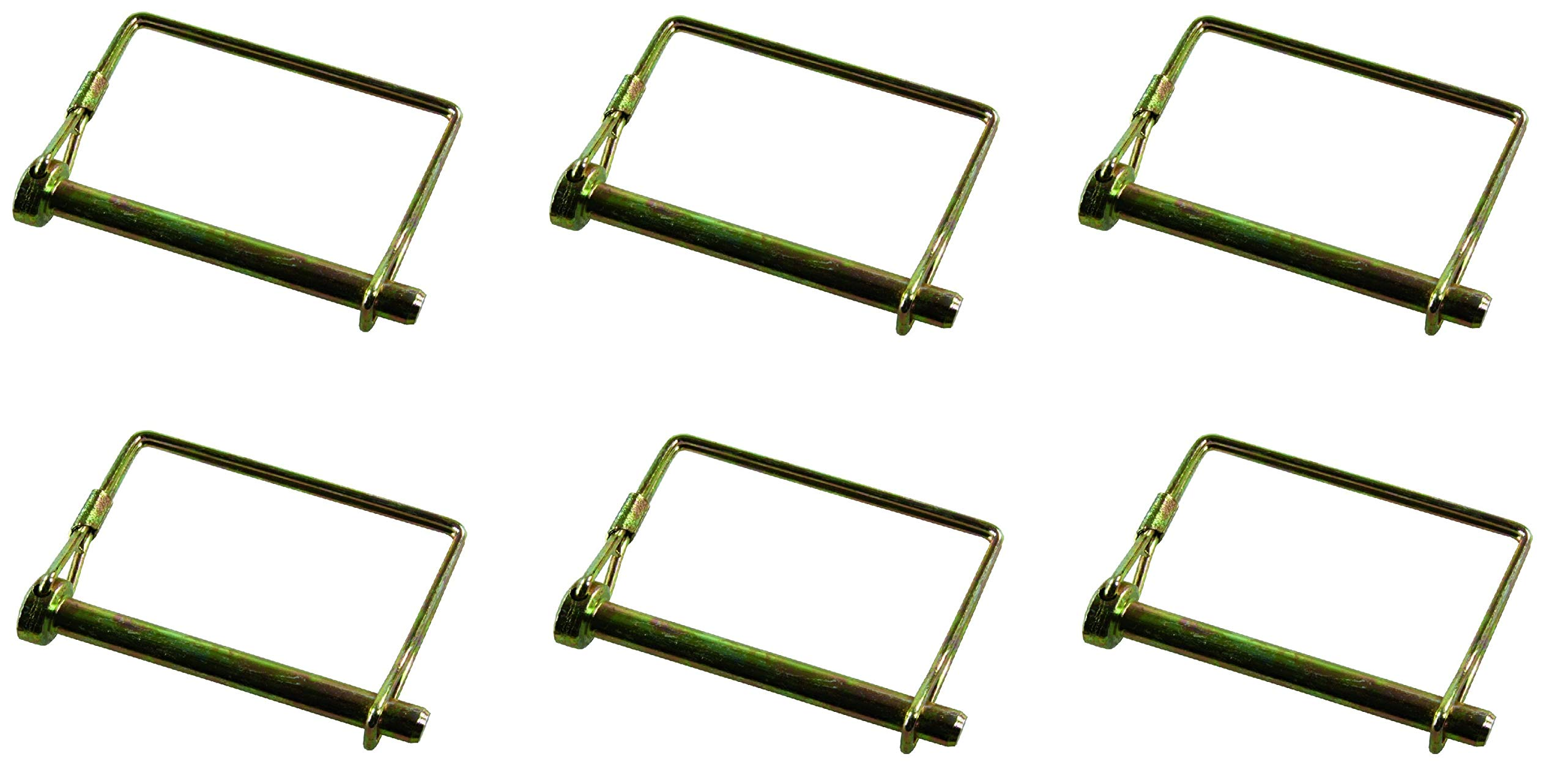 JR Products  01244 Safety Lock Pin - 5/16'' x 2-9/16'' Usable Length (6)