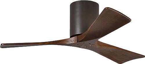 Matthews IR3H-TB-WA-42 Irene 42″ Outdoor Hugger Ceiling Fan