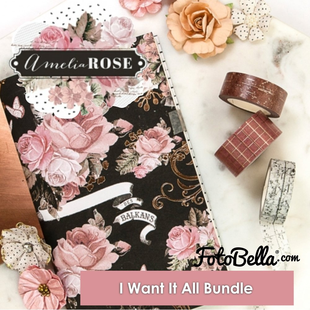 Prima Marketing Amelia Rose I Want It All Bundle