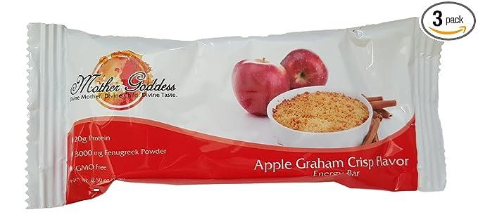 Madre Diosa Nutrición, Apple Graham Crisp Sabor Lactancia ...