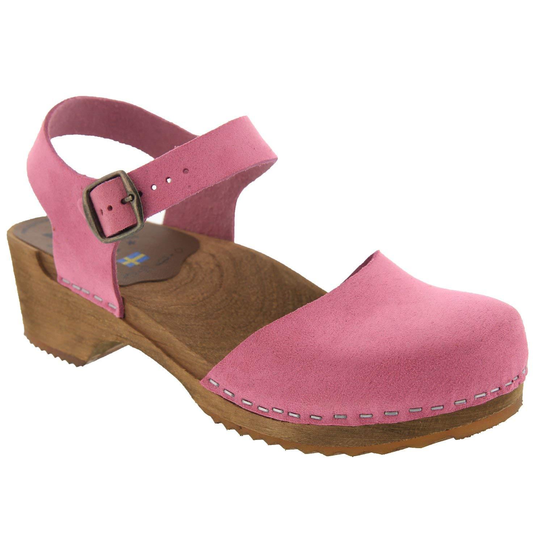 Buy Bjork Alma Swedish Low Heel Wooden
