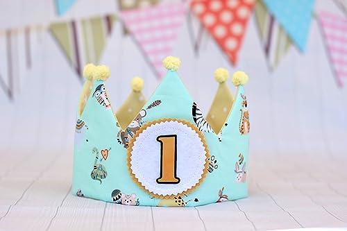 Pittitus corona de cumpleaños bebé regalo primer cumpleaños ...